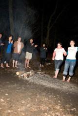 Walk on fire for Bosom Buds ofScotland!