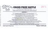 Grand Prize Raffle