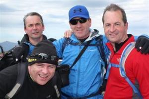 Cala Team on Ben Nevis