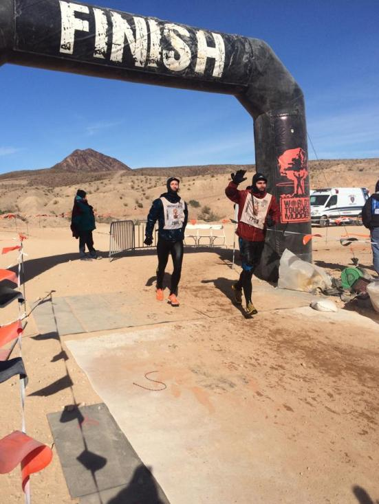 Toughest Mudder Finish